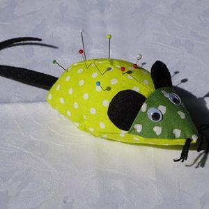 Nadelkissen (Maus)
